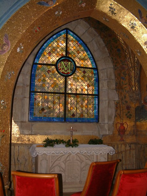 chapelle doree entree