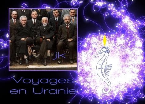 Les élèves du Maître : Marie Curie et Albert Ein-Stein au congrès de Solvay (Sol -Weg ou chemin du Soleil)