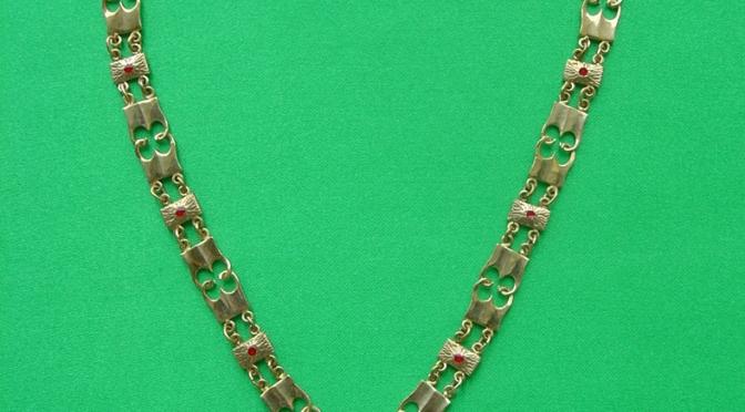 Réplique du collier de l'Ordre de la Toyson d'or