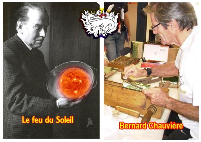 Bernard Chauvière à Bourges : quand Scel y est, l'or y vit