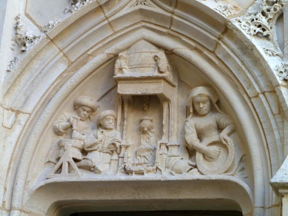 Journées alchimiques de Bourges : visite du Palais Jacques Coeur