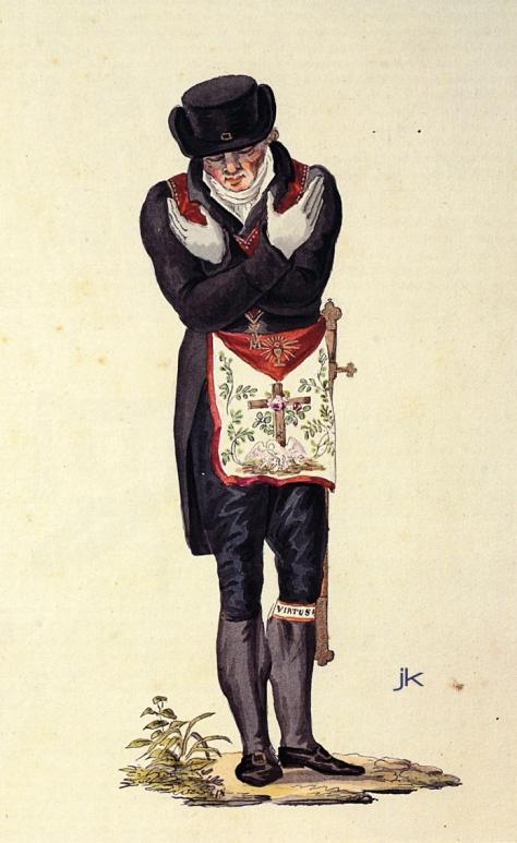 chevalier rose croix et cene