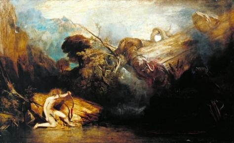Apollo and Python William Turner 1775-1851