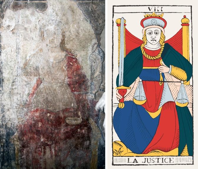 La justice : sources papales et épiscopales du Tarot