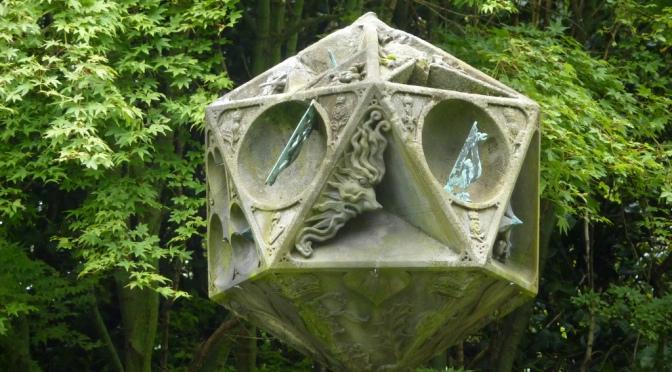 Le Sundial d'Holyrood : à l'ombre d'une fleur (1)