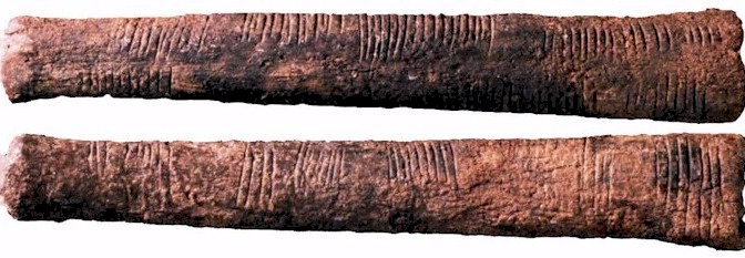 L'histoire commence à Ishango : une règle à calcul de 20.000 ans