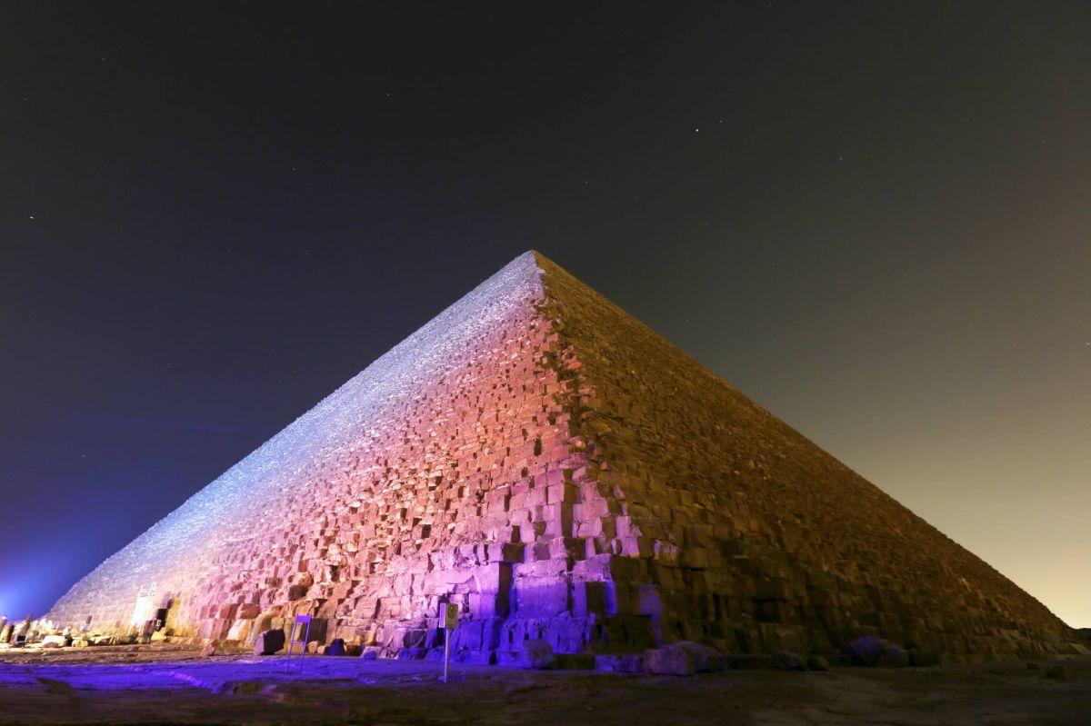 Pyramide de Khéops, une nouvelle chambre découverte