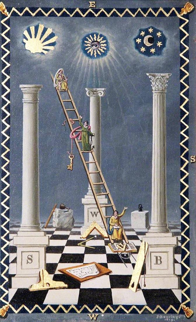 Kabbale et Franc-maçonnerie : les trois colonnes
