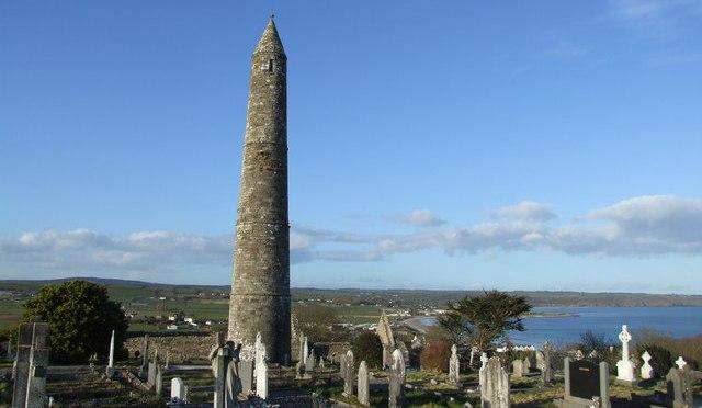 Les tours d'énergie en Irlande