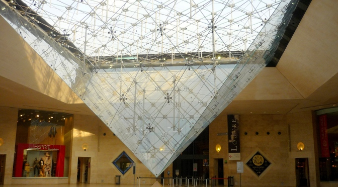 La pyramide inversée du Louvre et le Merkaba