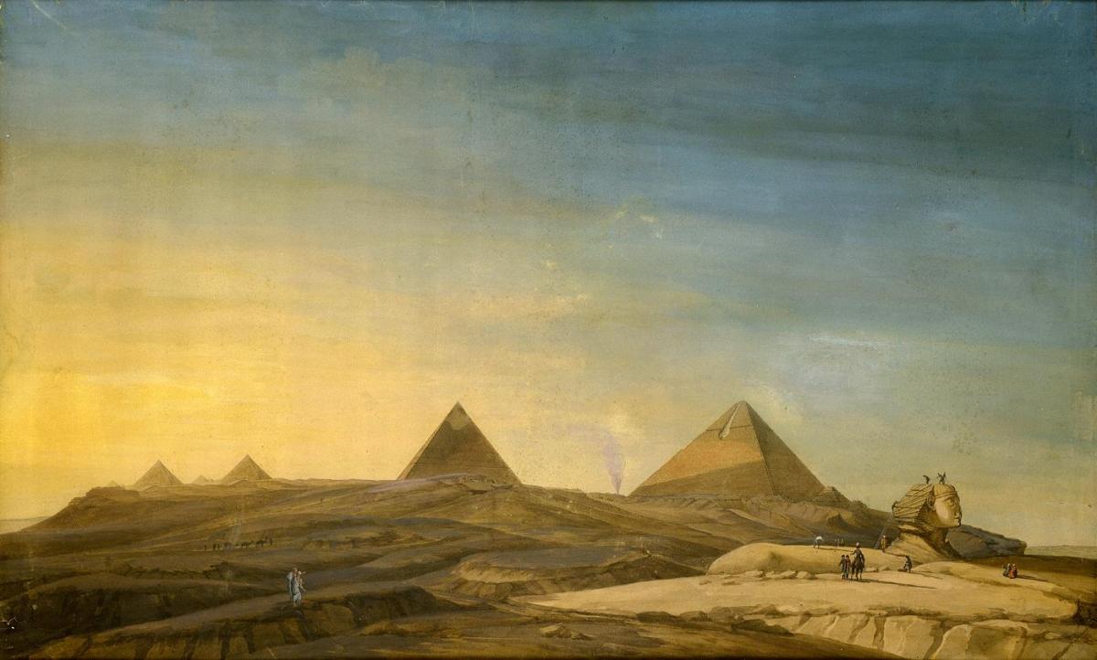 Le mystère de la 4ème Pyramide et la Reine pharaonne - 1