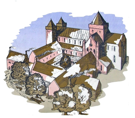 Abbaye de Kilwinning en Ecosse