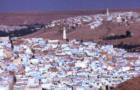 Ghardaïa vue d'ensemble