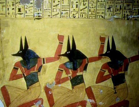 Shemsou-Hor et les serviteurs d'Horus