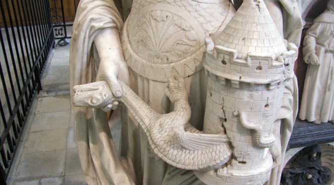 Sainte Barbe Arcane XVI