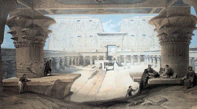 Edfou et les archives de l'Atlantide
