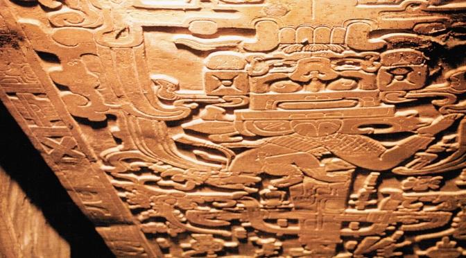 Les secrets de la dalle de Palenque : code X 2/4