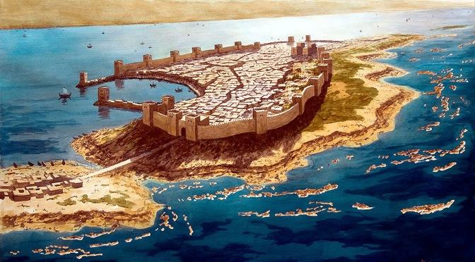 Hiram de Tyr et la route d'Ophir